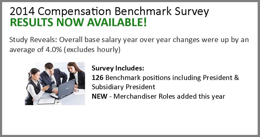 2014 Compensation Benchmark Survey: Results Now Available