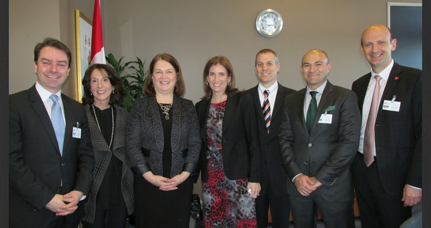 FCPC CEOs meet with the Hon. Jane Philpott, Minister of Health