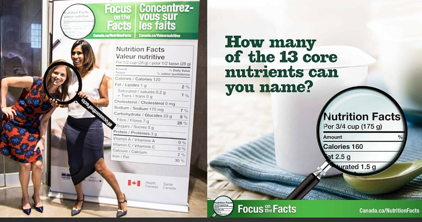 Nutrition Facts Education Campaign launch